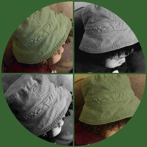 Baby Gap Olive Green Bucket Hat 18-24M